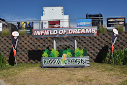 Field of Dreams sign at Iowa Speedway