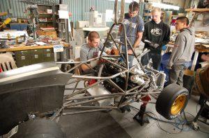 Husker_Motorsports_Building_Car
