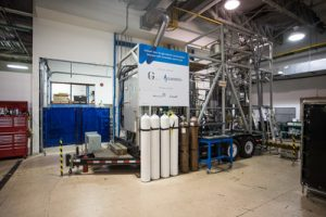 Demonstration unit to transform forestry biomass into natural gas (CNW Group/Gaz Métro)