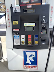 Food City supporting ethanol blended fuel at its retail station in Fairfield Glade, TN. Photo Credit: Joanna Schroeder