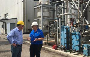 Rep. Tim Walz talks to Randall Doyal On Al-Corn's Expansion Plans