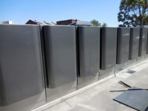 IKEA's fuel cell system installed at its retail location in Emeryville, CA. (Photo: Business Wire)