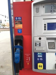From June 1 through Sept. 15 only consumers with flex fuel vehicles can fill up with E15. However, RFA is working to allow consumers with vehicles 2001 or newer to choose E15 at the pump year round.