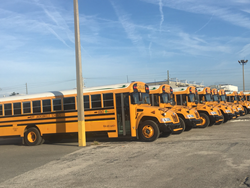 KIPP Jacksonville Schools deployed its first-ever fleet of school buses to transport students to and from the area campus. It's the first 100-percent propane-fueled fleet for a U.S. charter school.