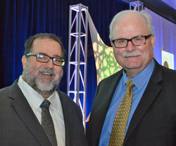 RFA CEO Bob Dinneen and USGC CEO Tom Sleight at 2016 Export Exchange